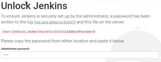jenkins-first-login