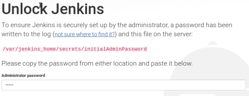 jenkins-first-login