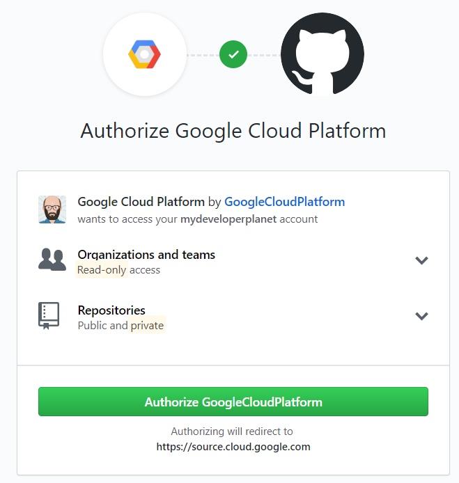 Cloud Build create trigger 3