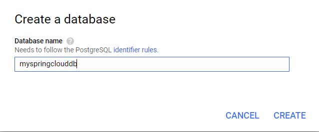 create database 2