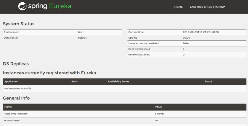eureka-initial-startup