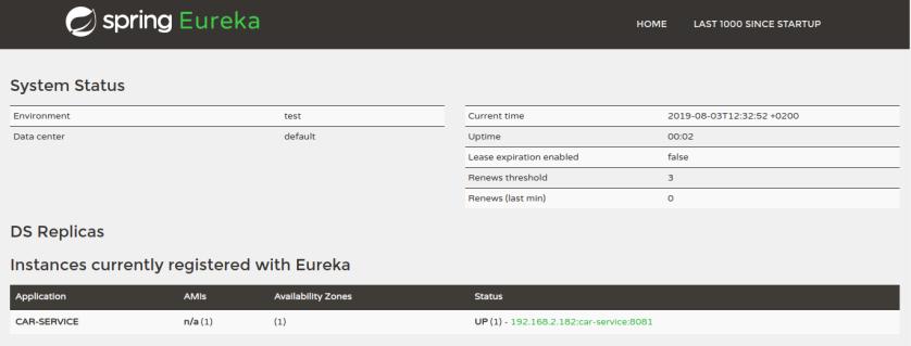 eureka-single-car-service