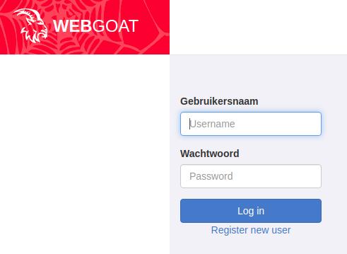 webgoat-inlog