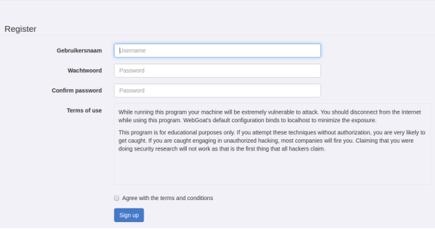webgoat-register-page