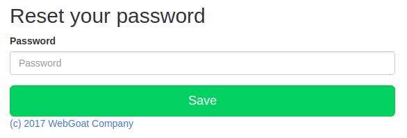 webgoat-reset-password
