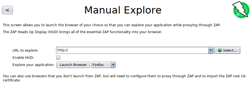 zaproxy-choose-browser